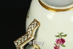 1774-1814 Marcolini Period MEISSEN Fine Porcelain Cup & Saucer