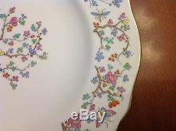 18 pc. Vintage COPELAND SPODE SHANGHAI Dinner Salad B & B Cup Saucer OLD STAMP