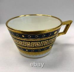 18th Century Royal Vienna Imperial Porcelain Cup and Saucer