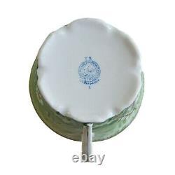 1940s Vintage Soviet Russian Porcelain Tea Pair Cup Saucer Verbilki Gardner