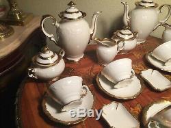 2 Vintage Set 12 cups & saucers German Schumann Bavaria