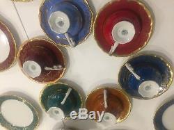 6 VintageWeimar porcelain Katharina 28010 Tea/Coffee TRIOTea Cup Saucer Plate