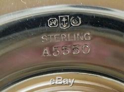 6 x GORHAM Sterling Silver & Lenox Porcelain Demitasse Cups & Saucers American