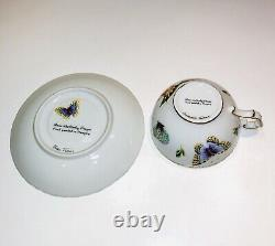 ANNA WEATHERLEY Old Master Tulips Cup and Saucer Handpainted