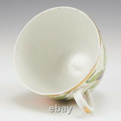 An English Porcelain Japan Pattern Tea Cup and Saucer c1810