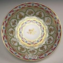Ancienne Royale De Limoges Dauphins Porcelain Cup & Saucer