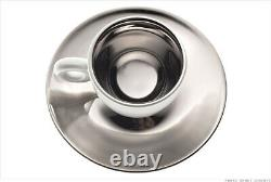 Anish Kapoor Illy Porcelain Espresso 2-Cup Art Collection Set Italy
