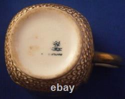 Antique 19thC Copeland Spode Porcelain Cup & Saucer CF Hurten Porzellan Tasse