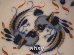 Antique 19thC Meissen Porcelain Blue Dragon Cup & Saucer Porzellan Tasse German