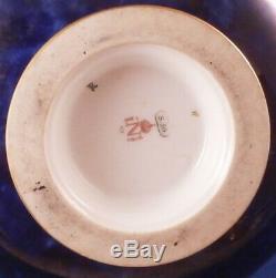 Antique 19thC Sevres Cobalt Blue Gold Porcelain Teapot Porzellan Kanne Tea Pot