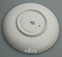 Antique English Porcelain Royal Worcester hand painted Cup & Saucer C. 1912