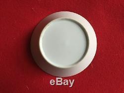 Antique Old Paris Porcelain Saucer Plate Dish 19th c. Empire 1800 1810