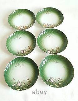 Antique Russian Porcelain Cup Saucer Set Kuznetsov