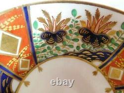 Antique Spode Porcelain London Shape Hand Decorated Imari Tea Cup And Saucer
