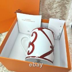 Authentic Hermes Paris Porcelain Mug Balcon du Guadalquivir withCase&Papers(NEW)