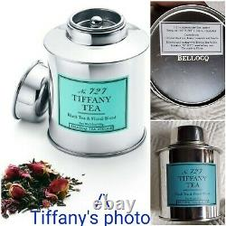 Authentic TIFFANY & Co. 2 Piece MUG & TEA SET NIB Bone China 12 oz CUPS & TIN