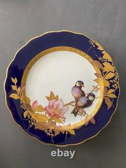Brownfield for tiffany painting to hand, 1900. 12 plates tiffany porcelain
