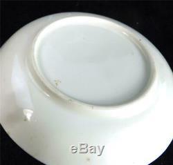 C1850 Antique Grainger Worcester Porcelain Argyle Shape Cup & Saucer Swinton