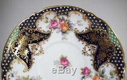 Copeland Spode Jeweled & Gilt Cup & Saucer made for Burley & co