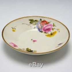 Derby Porcelain Cabinet Cup & Saucer c1810