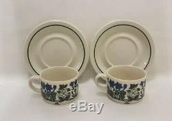 Esteri Tomula Flora Coffee Cups & Saucers Porcelain Arabia Finland