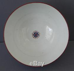 Fine Antique early 19th Century English New Hall Porcelain Slop or Waste Bowl