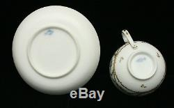 Fine & Rare Swiss Nyon Porcelain Cup & Saucer 1781-1813 Neoclassic Period