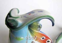 Franz Porcelain Buckeye Butterfly cup and saucer set FZ01673