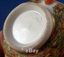 Great Antique 19thC Richard Ginori Porcelain Cup & Saucer Porzellan Doccia Tasse