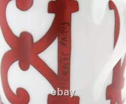 HERMES Balcon du Guadalquivir Pair of Cup & Saucer In Box New