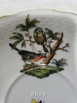 Herend Porcelain ROTHSCHILD BIRD Tea Cup & Saucer