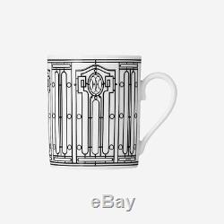 Hermes H Deco mug Mug n°1 in porcelain SET OF TWO