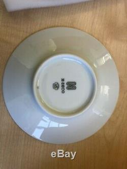 Hermes H Deco tea cup/saucer x 2- brand new in box with ribbon. RRP £230