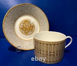 Hermes Mosaic Au 24 Breakfast Cup & Saucer