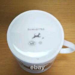 Hermes Paris Authentic silhouette Mug Cup with Box Out of print Rare