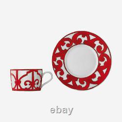 Hermès Tableware Balcon du Guadalquivir Tea Cup and Saucer 2 sets