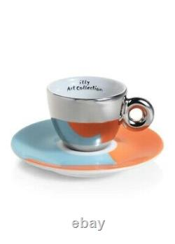 ILLY ART COLLECTION 4 Espresso Cups Stefan Sagmeister Limited Edition 23388