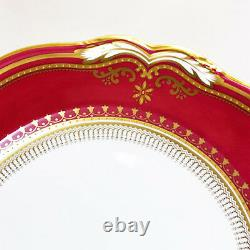 LANCASTER CRIMSON R8952 by Spode Copelands CUP & SAUCER NEW NEVER USED England