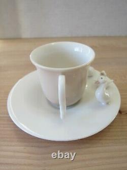 Lladro Duckings Cup And Saucer Rare