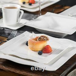 MALACASA, Series Mario 60pcs Dinner Service Sets Porcelain Dinnerware Set for 12