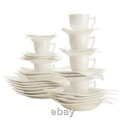Maxwell & Williams Motion Coffee & Dinner Set, 30 Pieces, Porcelaine
