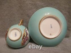 Meissen Porcelain Kauffahrtei Tea Cup & Saucer. 1730