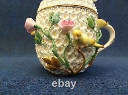 Meissen Snowball Porcelain Cup No Saucer With LID