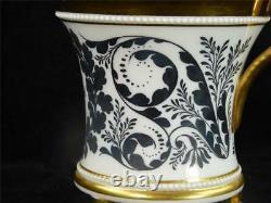 N749 C1833 Kpm Berlin Porcelain Large Empire Shape Cup Tasse Dr Waldeck Family