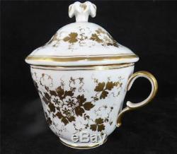 N749 C1848 Kpm Berlin Porcelain Large Cup & Saucer Portrait Girl Waldeck Family
