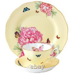 NEW Royal Albert Miranda Kerr Joy Teacup, Saucer & Plate Set