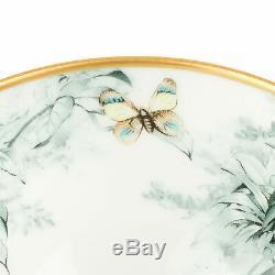 NEW with Box Hermes Carnets d' Equateur Birds Tea Cup Saucer Gift Set