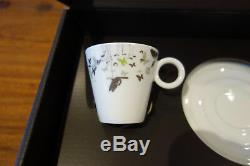 Nespresso 2010 Christian Ghion Limited Edition Tanzaru Espresso Art Cup Set