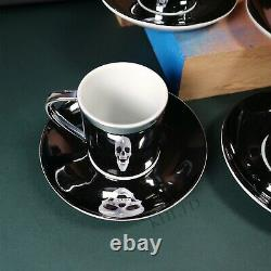 New Damien Hirst Artist Anamorphic Espresso Cups Art Print For the Love of God