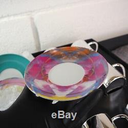 New Damien Hirst Artist Anamorphic Espresso Cups Set Art Print Other Criteria